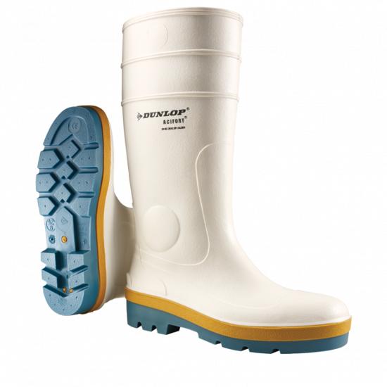Picture of Dunlop Acifort Tricolour SRA White