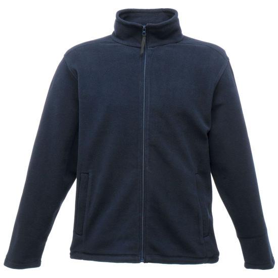 Picture of Regatta Micro Fleece, Full Zip, Navy