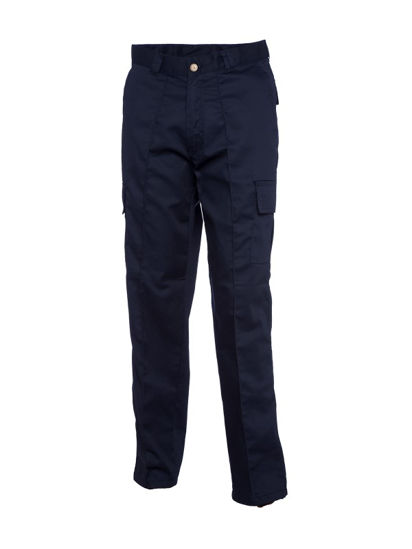 Picture of Uneek Cargo Trouser, Navy, Size 30R