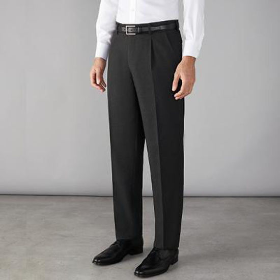 Picture of Stone Mens Trousers, Navy, Size 32R