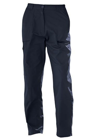 Picture of Regatta Ladies Action Trousers Navy