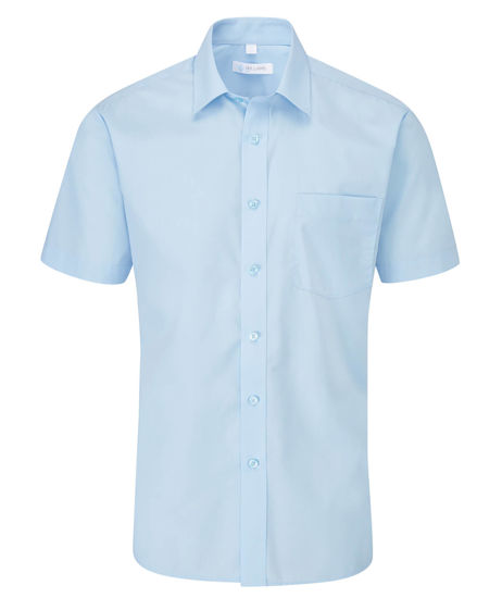 Picture of Disley Classic Short Sleeve Shirt, Blue