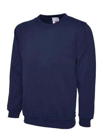 Picture of Uneek Classic Sweatshirt, Navy