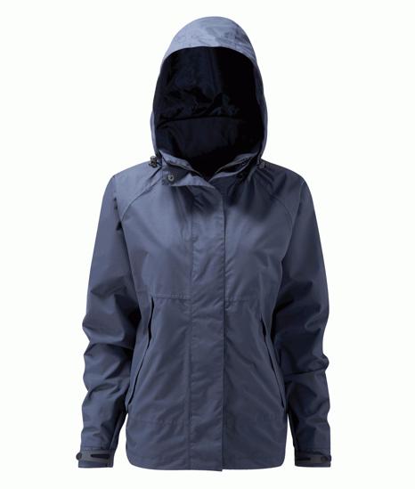 Picture of Davaar Ladies Waterproof Jacket, Navy, Size L