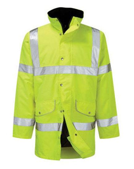 Picture of Orbit Rapier Breathable 3/4 Jacket, Yellow