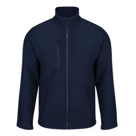 Picture of Men's Ablaze 3 Layer Softshell Jacket, Navy