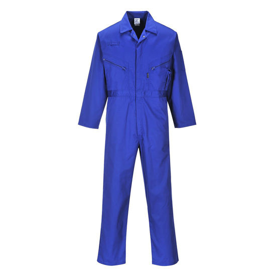 Picture of Liverpool Zip Coverall, Royal Blue