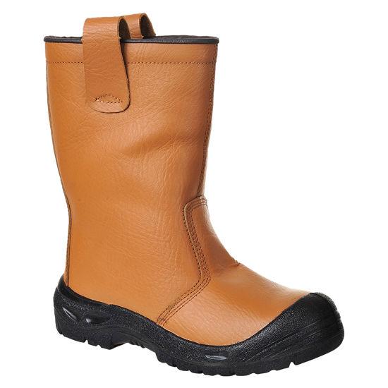 Picture of Steelite Rigger Boot Scuff Cap S3, Tan, Size 10
