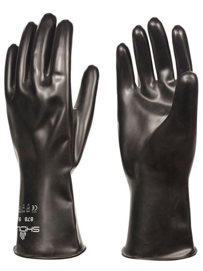 Picture of Showa 878 Butyl Chemical Glove