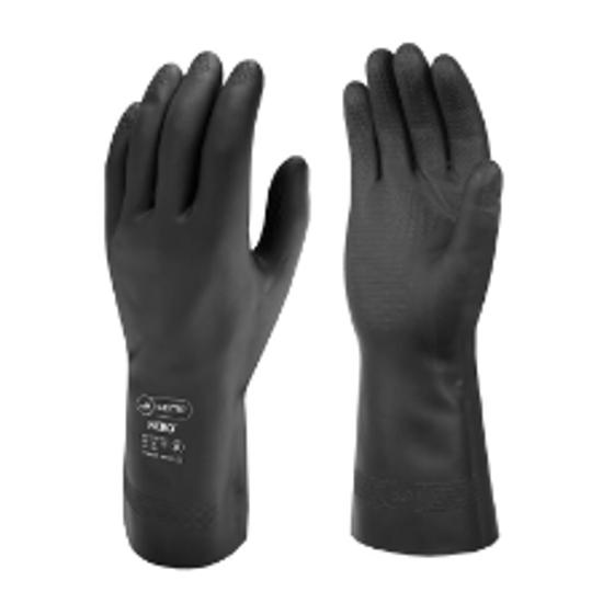 Skytec Nero™ Cotton Flock Latex Glove, Size S