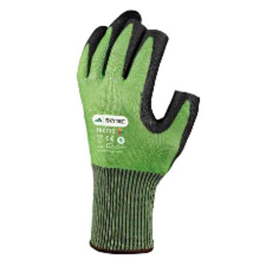 Picture of Skytec Cut E Glove Green/ Black