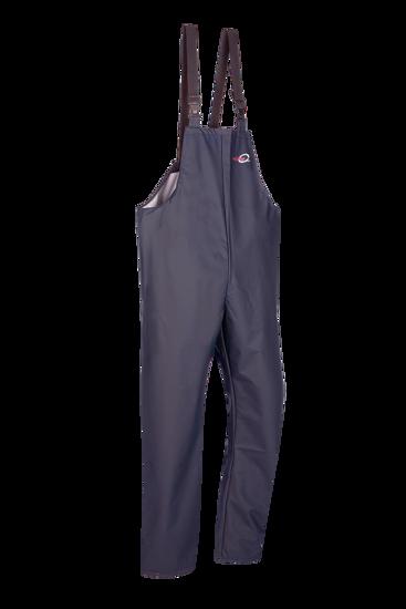 Picture of Bandung Bib & Brace Trouser, Flexotane Essential, Navy