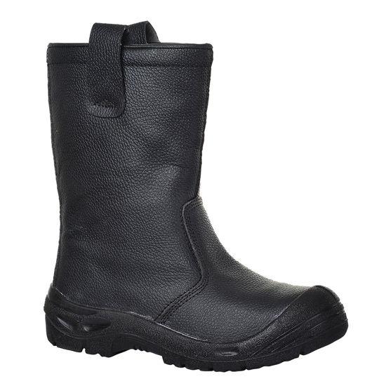 Picture of Steelite Rigger Boot Scuff Cap S3 CI, Black