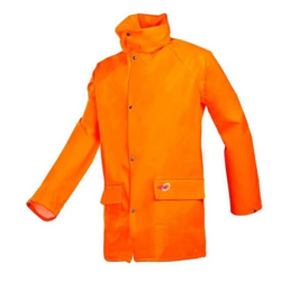 Sioen Flexothene Classic Rain Jacket, Orange, Sioen 4820